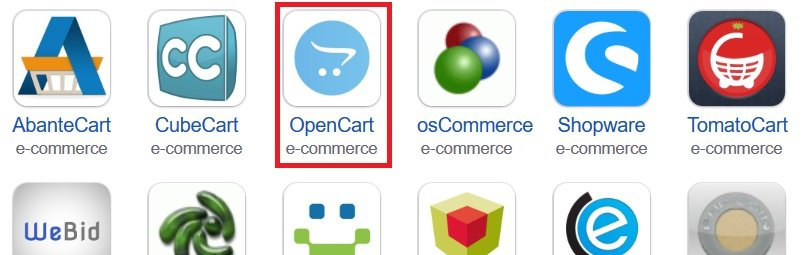 opencart opencart