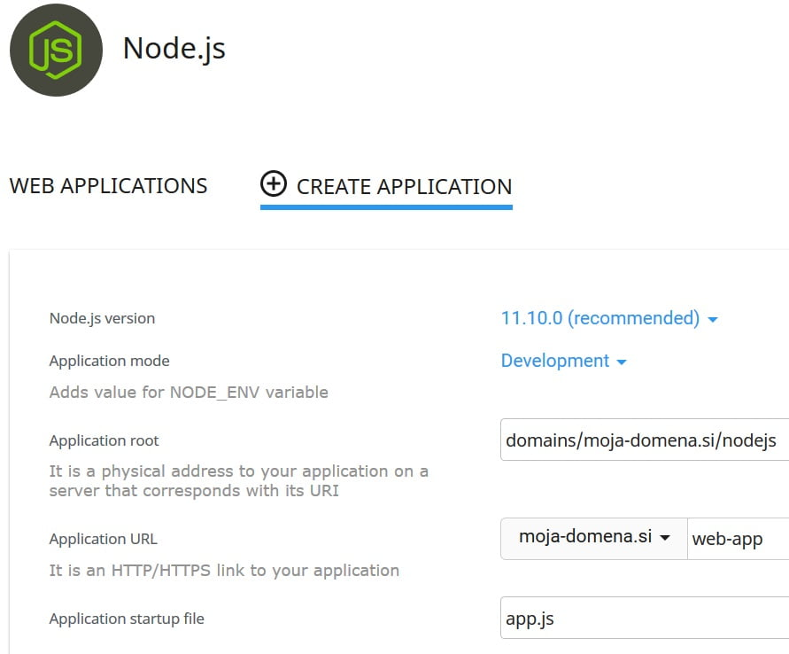 node.js nodejs