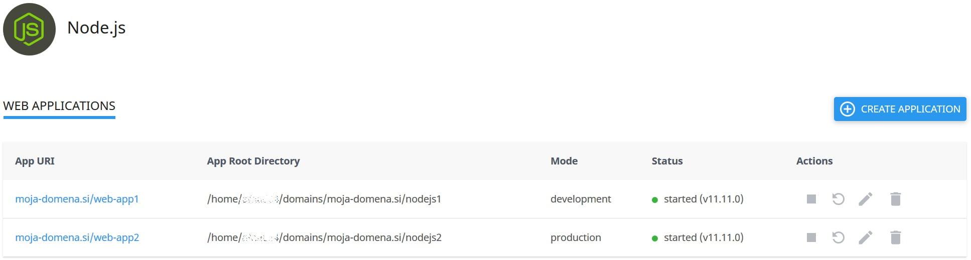 NodeJS (node.js) nodejs